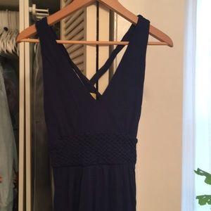 MAEVE Anthropologie floor-length dress